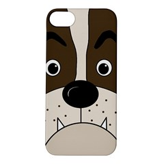 Bulldog face Apple iPhone 5S/ SE Hardshell Case