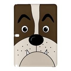 Bulldog face Samsung Galaxy Tab Pro 10.1 Hardshell Case