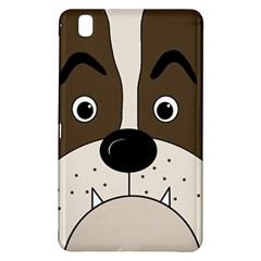 Bulldog face Samsung Galaxy Tab Pro 8.4 Hardshell Case