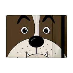 Bulldog face iPad Mini 2 Flip Cases