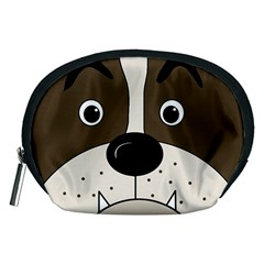 Bulldog face Accessory Pouches (Medium)