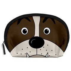 Bulldog face Accessory Pouches (Large)