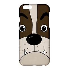 Bulldog face Apple iPhone 6 Plus/6S Plus Hardshell Case