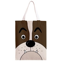 Bulldog face Classic Light Tote Bag