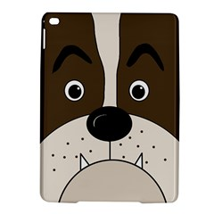 Bulldog face iPad Air 2 Hardshell Cases