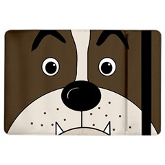 Bulldog face iPad Air 2 Flip