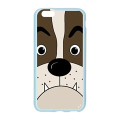 Bulldog face Apple Seamless iPhone 6/6S Case (Color)
