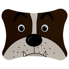 Bulldog face Jigsaw Puzzle Photo Stand (Bow)