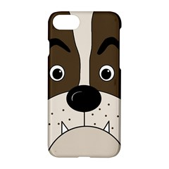 Bulldog face Apple iPhone 7 Hardshell Case