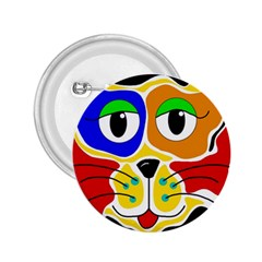 Colorful cat 2.25  Buttons