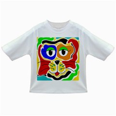 Colorful cat Infant/Toddler T-Shirts