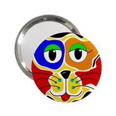 Colorful cat 2.25  Handbag Mirrors