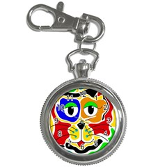 Colorful cat Key Chain Watches