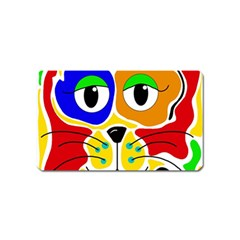 Colorful cat Magnet (Name Card)