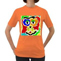 Colorful cat Women s Dark T-Shirt