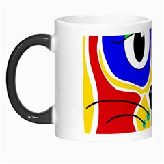 Colorful cat Morph Mugs