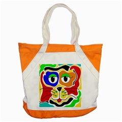 Colorful cat Accent Tote Bag