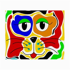 Colorful cat Small Glasses Cloth (2-Side)
