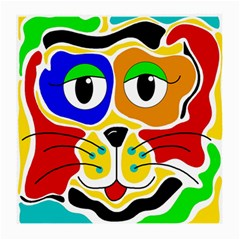 Colorful cat Medium Glasses Cloth (2-Side)