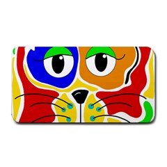 Colorful cat Medium Bar Mats