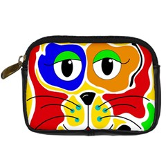 Colorful cat Digital Camera Cases