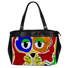 Colorful cat Office Handbags