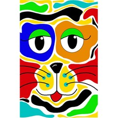 Colorful cat 5.5  x 8.5  Notebooks
