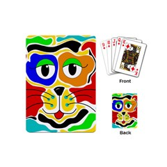 Colorful cat Playing Cards (Mini)