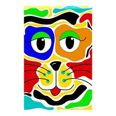 Colorful cat Shower Curtain 48  x 72  (Small)