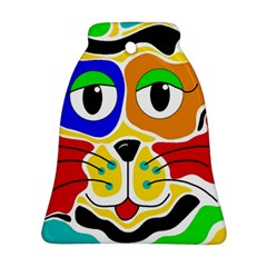 Colorful cat Ornament (Bell)