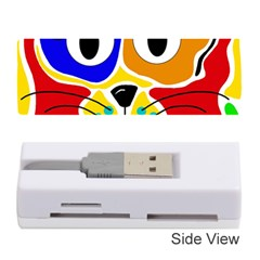 Colorful cat Memory Card Reader (Stick)
