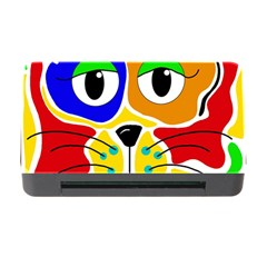 Colorful cat Memory Card Reader with CF