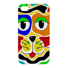 Colorful cat Apple iPhone 4/4S Hardshell Case