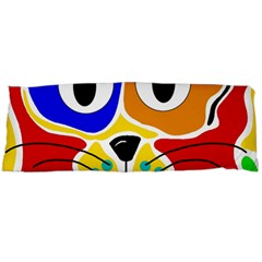 Colorful cat Body Pillow Case Dakimakura (Two Sides)