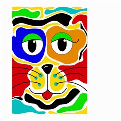 Colorful cat Small Garden Flag (Two Sides)