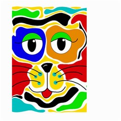 Colorful cat Large Garden Flag (Two Sides)