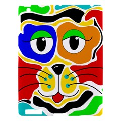 Colorful cat Apple iPad 3/4 Hardshell Case