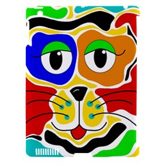 Colorful cat Apple iPad 3/4 Hardshell Case (Compatible with Smart Cover)