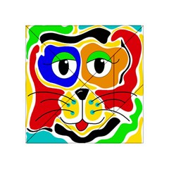 Colorful cat Acrylic Tangram Puzzle (4  x 4 )