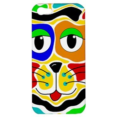 Colorful cat Apple iPhone 5 Hardshell Case