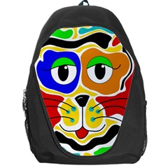 Colorful cat Backpack Bag