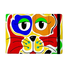 Colorful cat Apple iPad Mini Flip Case