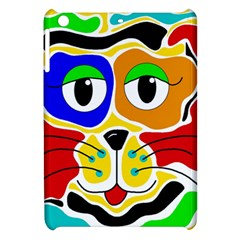 Colorful cat Apple iPad Mini Hardshell Case