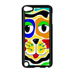 Colorful cat Apple iPod Touch 5 Case (Black)