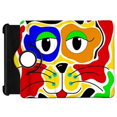 Colorful cat Kindle Fire HD 7
