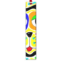 Colorful cat Large Book Marks