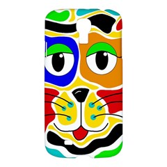 Colorful cat Samsung Galaxy S4 I9500/I9505 Hardshell Case