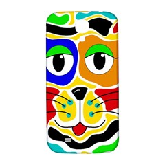 Colorful cat Samsung Galaxy S4 I9500/I9505  Hardshell Back Case