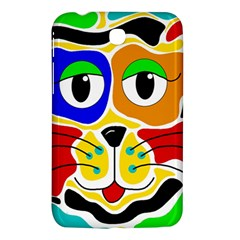 Colorful cat Samsung Galaxy Tab 3 (7 ) P3200 Hardshell Case