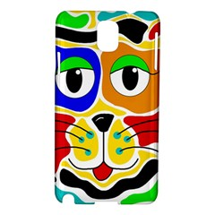 Colorful cat Samsung Galaxy Note 3 N9005 Hardshell Case